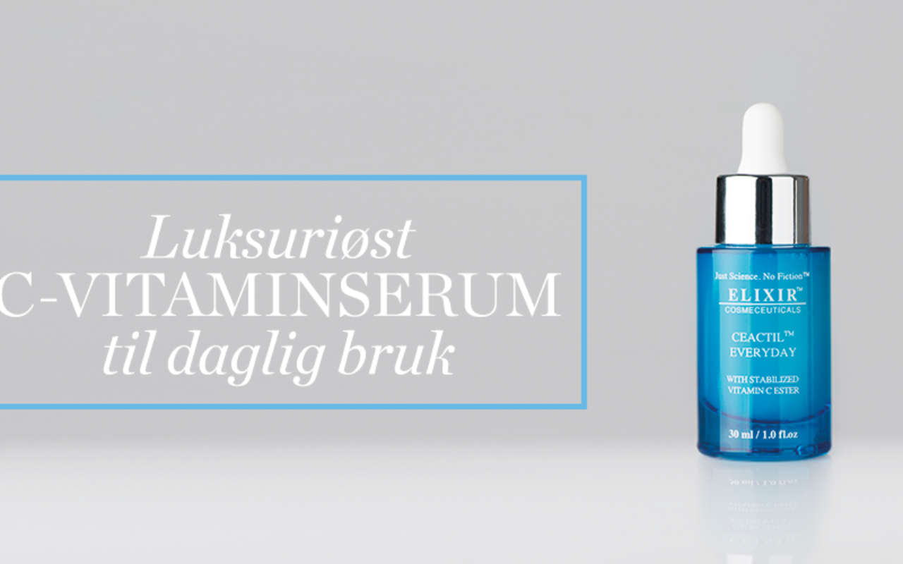 Vi lanserer Ceactil Everyday Serum!